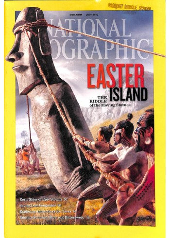 Cover Print of National Geographic Magazine, July 2012