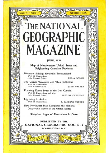 Cover Print of National Geographic Magazine, June 1950
