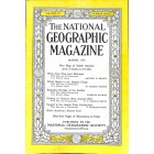 National Geographic Magazine, March 1952