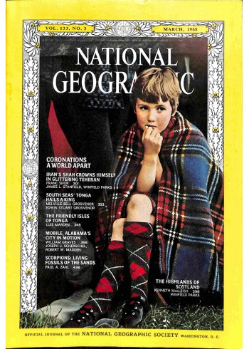 National Geographic, March 1968