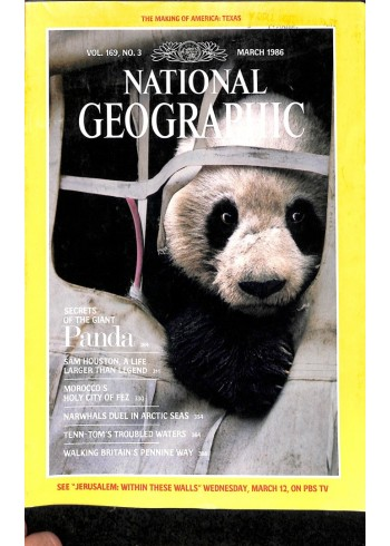 National Geographic Magazine, March 1986