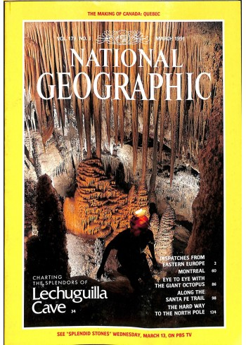 National Geographic, March 1991