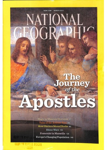National Geographic Magazine, March 2012