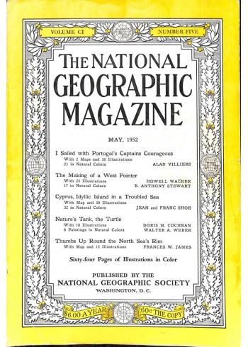Cover Print of National Geographic Magazine, May 1952