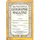 Cover Print of National Geographic Magazine, November 1926
