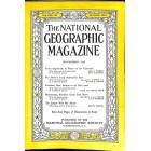 National Geographic Magazine, November 1952
