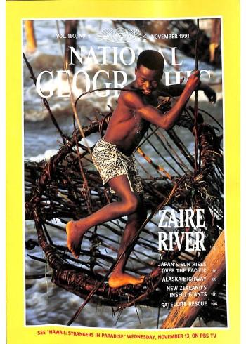 National Geographic, November 1991
