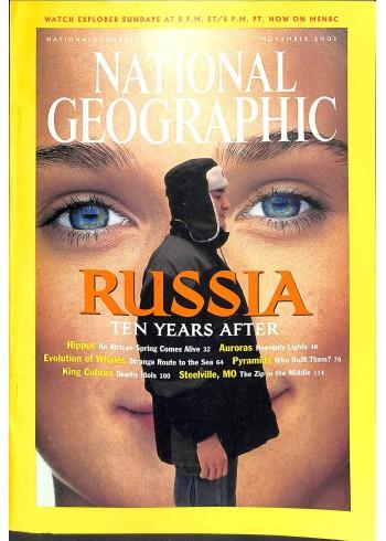 National Geographic, November 2001