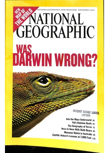 Cover Print of National Geographic Magazine, November 2004