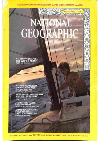 National Geographic, October 1968