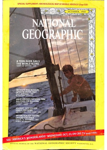 Cover Print of National Geographic Magazine, October 1968