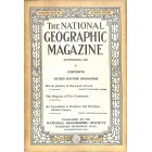 National Geographic Magazine, September 1920