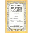 Cover Print of National Geographic Magazine, September 1924