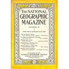 Cover Print of National Geographic Magazine, September 1935
