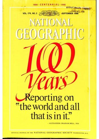 National Geographic Magazine, September 1988