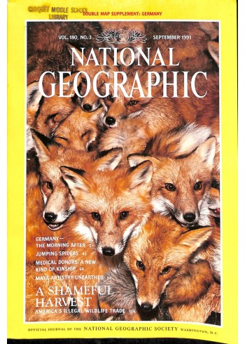 Cover Print of National Geographic Magazine, September 1991