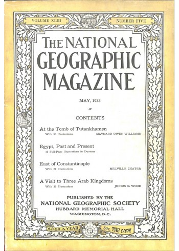 National Geographic, May 1923