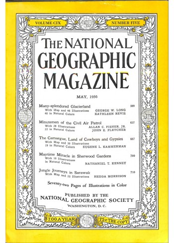 Cover Print of National Geographic, May 1956
