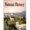 Cover Print of Natural History, November 1957