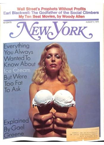 New York, August 3 1970