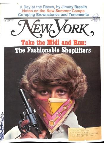New York, May 4 1970