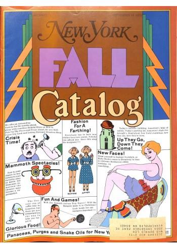 Cover Print of New York, September 14 1970