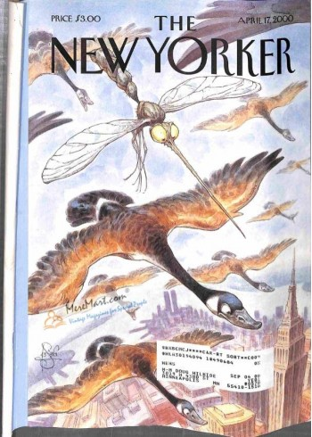 Cover Print of New Yorker, April 17 2000