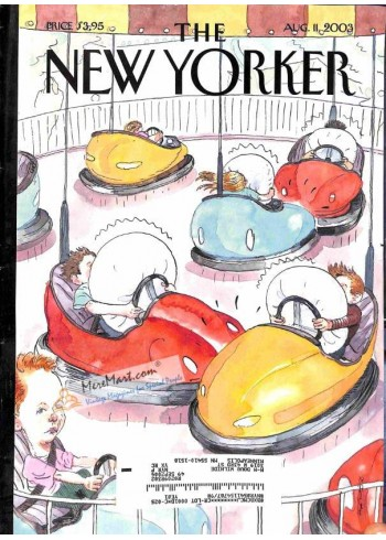 Cover Print of New Yorker, August 11 2003