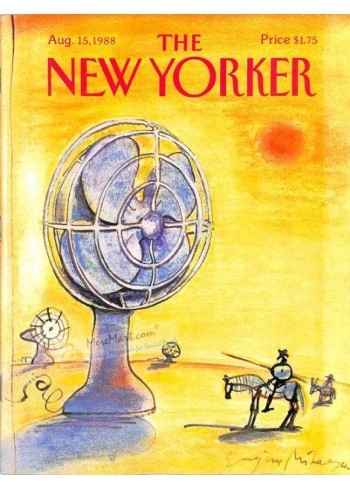 Cover Print of The New Yorker, August 15 1988
