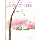 Cover Print of The New Yorker, August 1 1988