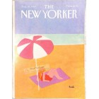 Cover Print of The New Yorker, August 20 1984