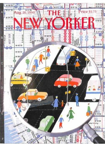 Cover Print of The New Yorker, August 20 1990