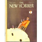 Cover Print of The New Yorker, August 6 1990