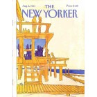 Cover Print of The New Yorker, August 8 1983