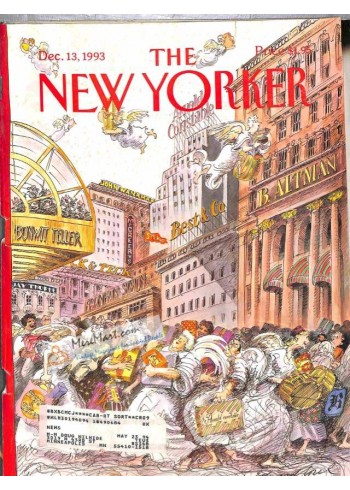 Cover Print of New Yorker, December 13 1993