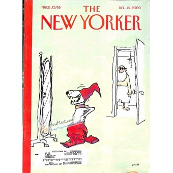 Cover Print of New Yorker, December 15 2003
