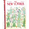 Cover Print of The New Yorker, December 18 1989