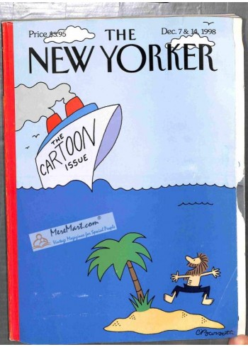 Cover Print of New Yorker, December 7 1998