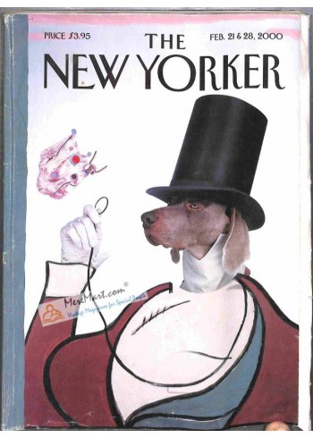 Cover Print of New Yorker, February 21 2000