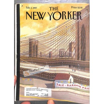 Cover Print of New Yorker, February 3 1997