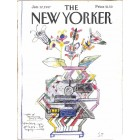 Cover Print of The New Yorker, January 12 1987