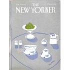 Cover Print of The New Yorker, January 14 1985