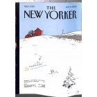 Cover Print of New Yorker, January 14 2002