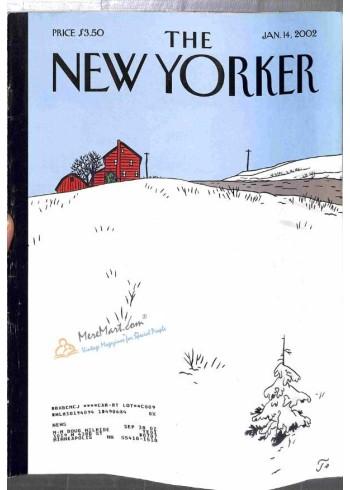 New Yorker, January 14 2002