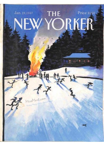 Cover Print of The New Yorker, January 19 1987