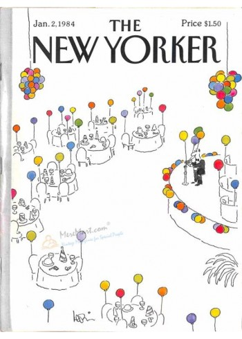 Cover Print of The New Yorker, January 2 1984