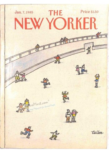 Cover Print of The New Yorker, January 7 1985