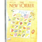 Cover Print of The New Yorker, July 11 1988