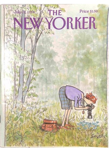 Cover Print of The New Yorker, July 16 1984