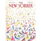Cover Print of The New Yorker, July 21 1986